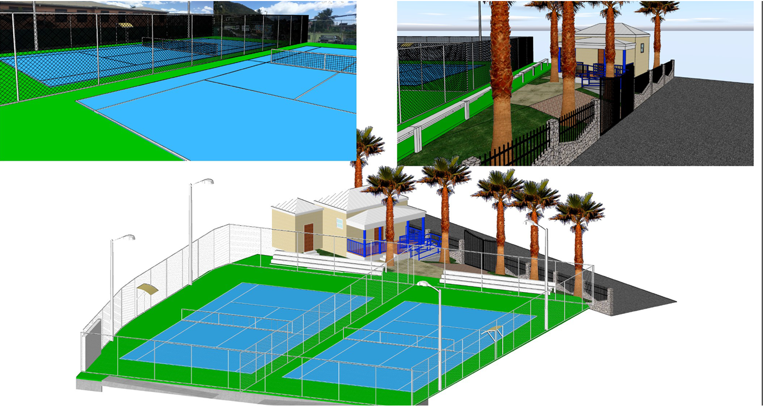 bvi tennis court